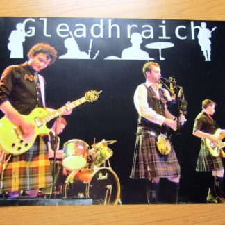 Gleadhraich poster